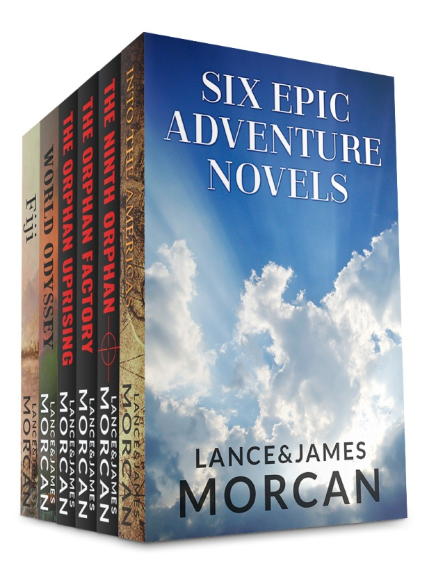 SixEpicAdventureNovels ebook cover