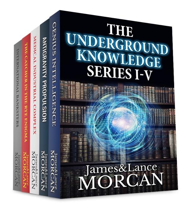 Underground series I-V 3D cover
